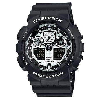Casio G-Shock GA-100BW-1AER