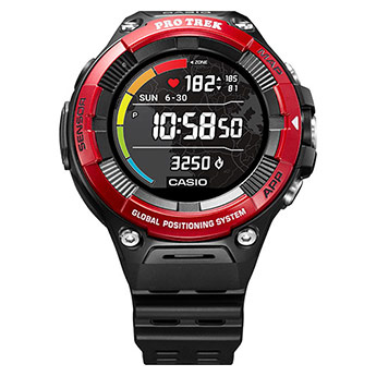 Casio Protrek Smart WSD-F21HR-RDBGE