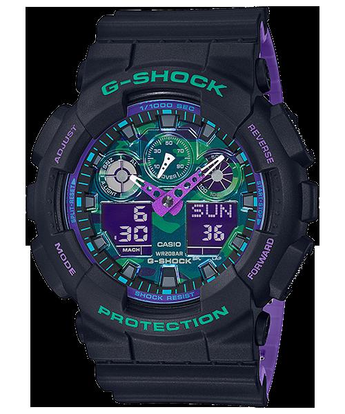 Casio G-SHOCK GA-100BL-1A