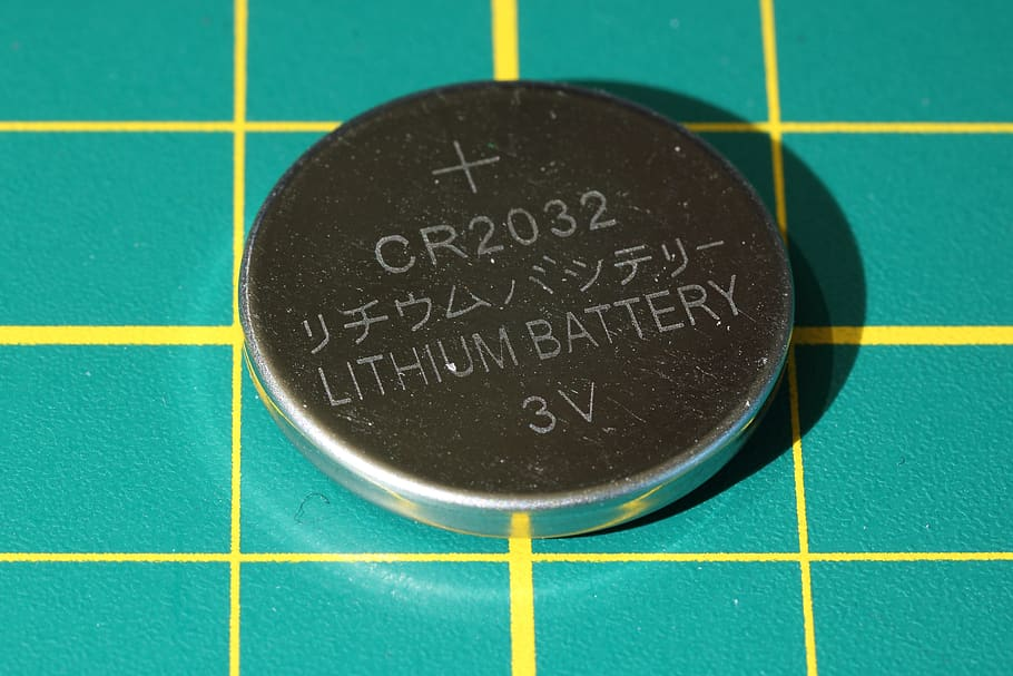 Pila de litio CR2032