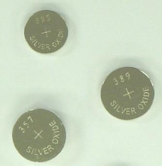 Pila Óxido de plata SR936