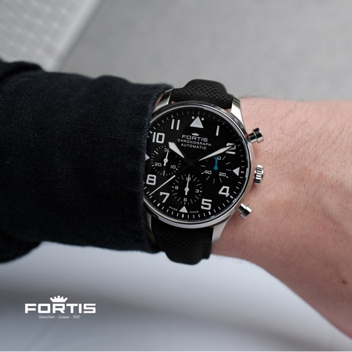 Fortis Watch Review On Wrist