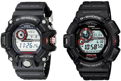 Casio G Shock Mudman vs RANGEMAN: ¿Qué G-Shock es mejor?