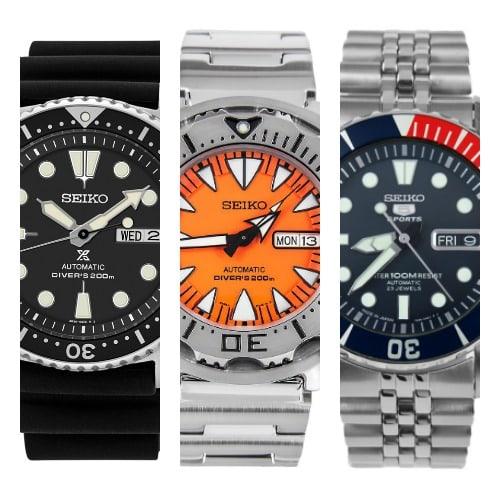 Los 24 mejores relojes de buceo Seiko