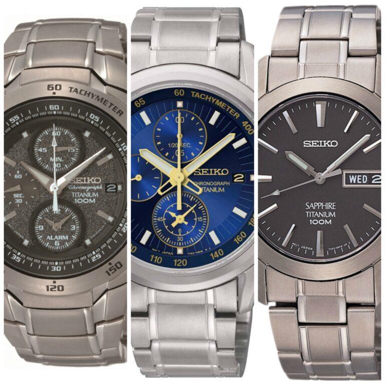 Los 9 mejores relojes Seiko de titanio para hombres