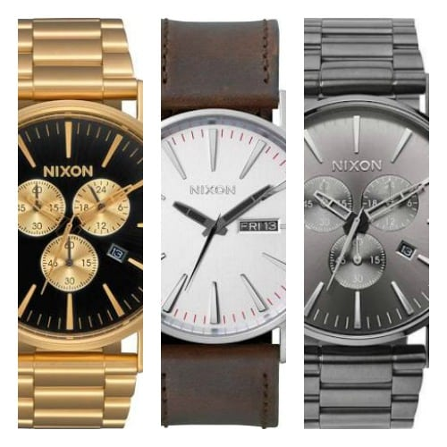 8 mejores relojes Nixon Sentry para hombres