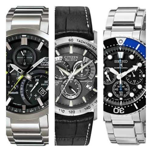 11 mejores relojes solares para hombres