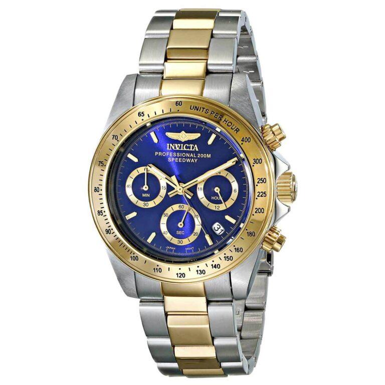 Revisión del reloj para hombre Invicta 3644