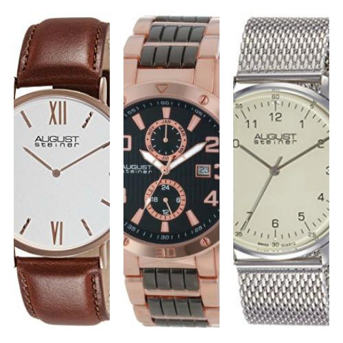 Revisión de los relojes August Steiner: ¿Son buenos?